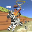Zebra Rodeo Stampede