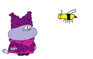 Chowder meets Buff-Tailed Bumblebee