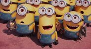 Kevin and minions found gru
