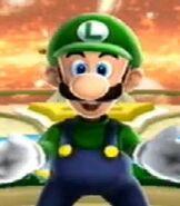 Luigi in Super Mario Galaxy 2
