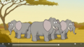 Nature Cat African Elephants