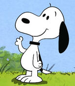 Snoopy in the Peanuts Shorts