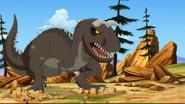 The Carnotaurus done roaring
