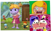 Wallykazam and Sabrina and Ami and Yumi Gets Shocked