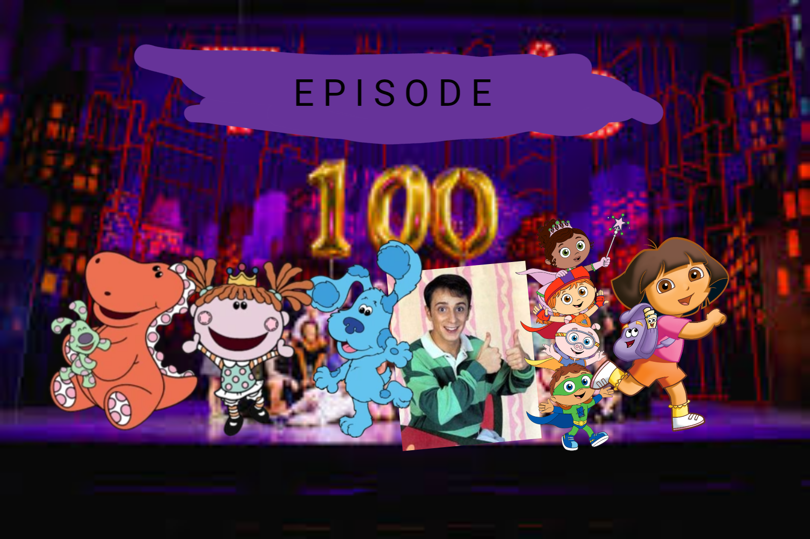 Blue's Room: Blue's Big 100th Episode Celebration Adventure