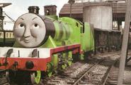 Henry as Brosnan's Bond