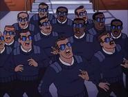 Secret service look alikes