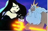 Shego's Deal with Triton little drake
