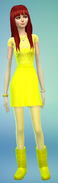 Soleil Spacebot made in Sims 4