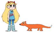 Star meets Least Weasel