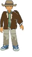 Brock as a rescue ranger