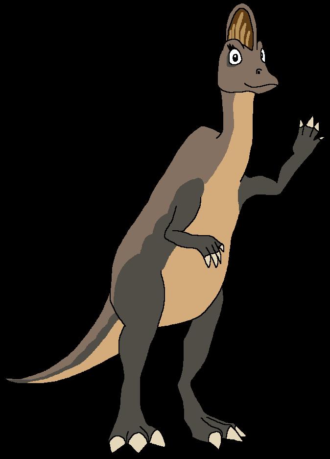 Claire the Corythosaurus
