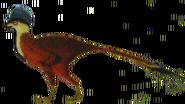 Helmeted Troodont