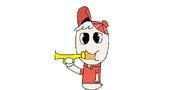 Huey bugle