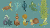 Mermaid Concepts 4 by DoodleBuggy