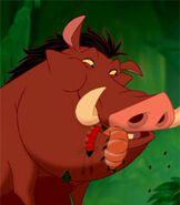Pumbaa in The Lion King