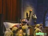 The Count sings Lambaba as the sheep dance