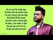 The Weeknd - I Feel It Coming ~ Lyrics ~ ft