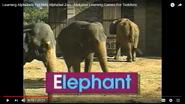 Alphabetzoo Elephants