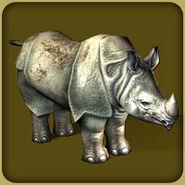 Javan Rhinoceros2 (Zoo Tycoon 2)