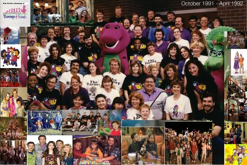 Blake Foster's Adventures of Barney & Friends