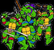 Leonardo, Donatello, Raphael and Michelangelo