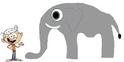 Lincon meets African Bush Elephant
