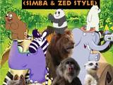 Madagascar 2: Escape 2 Africa (Simba and Zed Style)