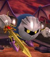 Meta Knight in Super Smash Bros. for Wii-U and 3DS