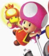 Toadette in Mario Kart Double Dash