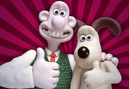 Wallace and gromit duo