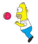 Homer Simpson in Macy's Thanksgiving Day Parade