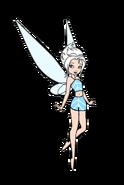 Periwinkle wearing a bikini