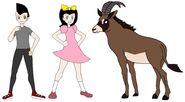 Riley and Elycia meets Roan Antelope