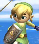 Toon Link in Super Smash Bros. Brawl