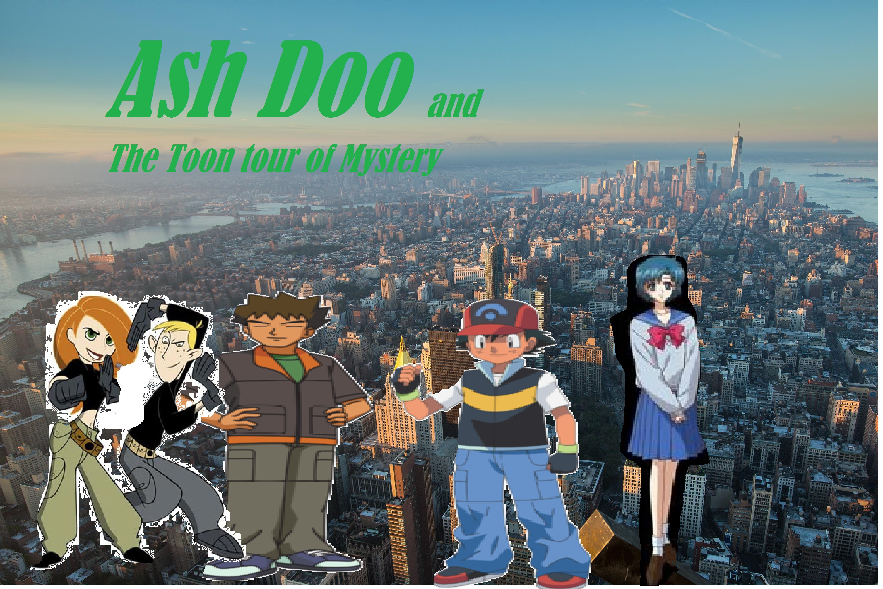 Ash Doo and the Toon Tour of Mysteries