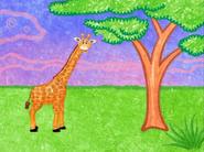 Blue's Clues Giraffe