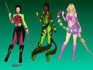 Disney Princess Superheroes 3