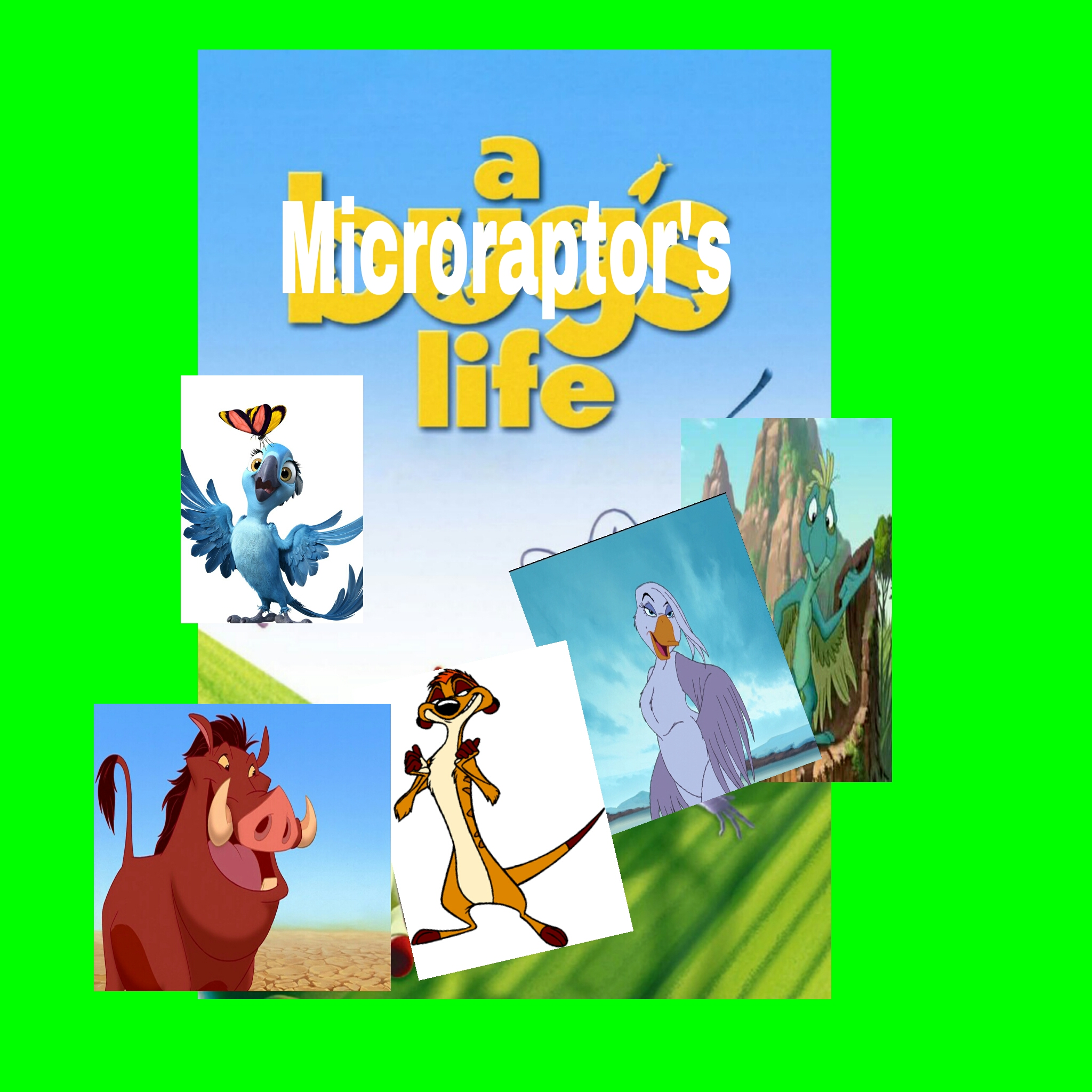 A Microraptor's Life