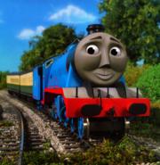 Gordon the Big Engine as Sirius Black