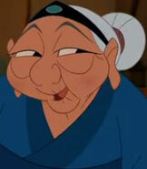 Grandmother Fa in Mulan