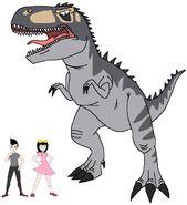 Riley and Elycia meets Tyrannotitan
