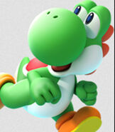 Yoshi in Mario Party - Island Tour