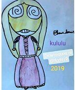 2020 Hana doremi1's Kululu's Rapunzel cosplay art