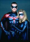 Dick Grayson-Robin and Barbara Gordon-Batgirl