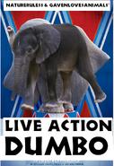 Dumbo (2019) (NR1GLA Style) Poster