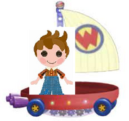Forest Evergreen Riding the Wonder Pets Flyboat