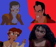 Hans and Clara V.S. Gaston and Mother Gothel