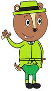 Jaden (pipe in hand) (secret agent)