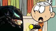Lincoln shocked at Venom